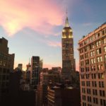 Tonights view from Italian class was molto bene iheartnyc sunset