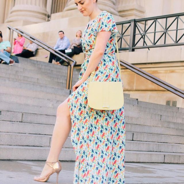 Spotted Tillie Adelson on the steps of metmuseum in herhellip