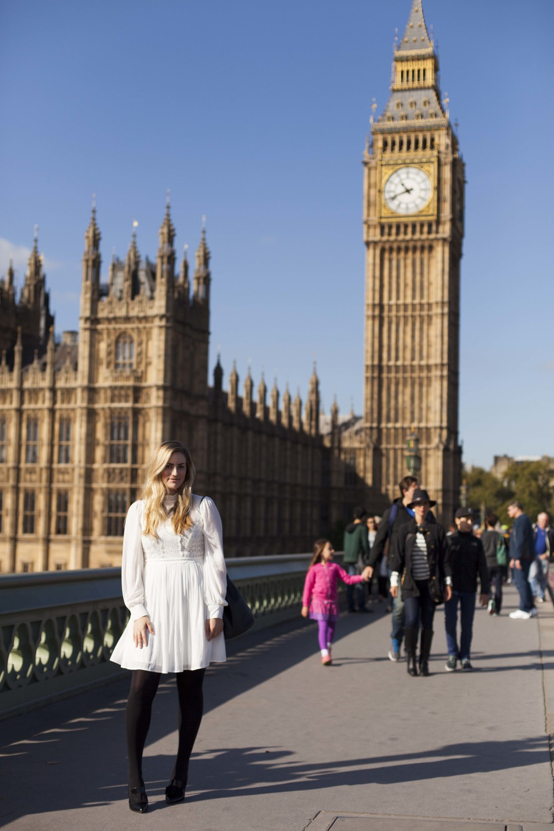 Big Ben London wearing Forever 21