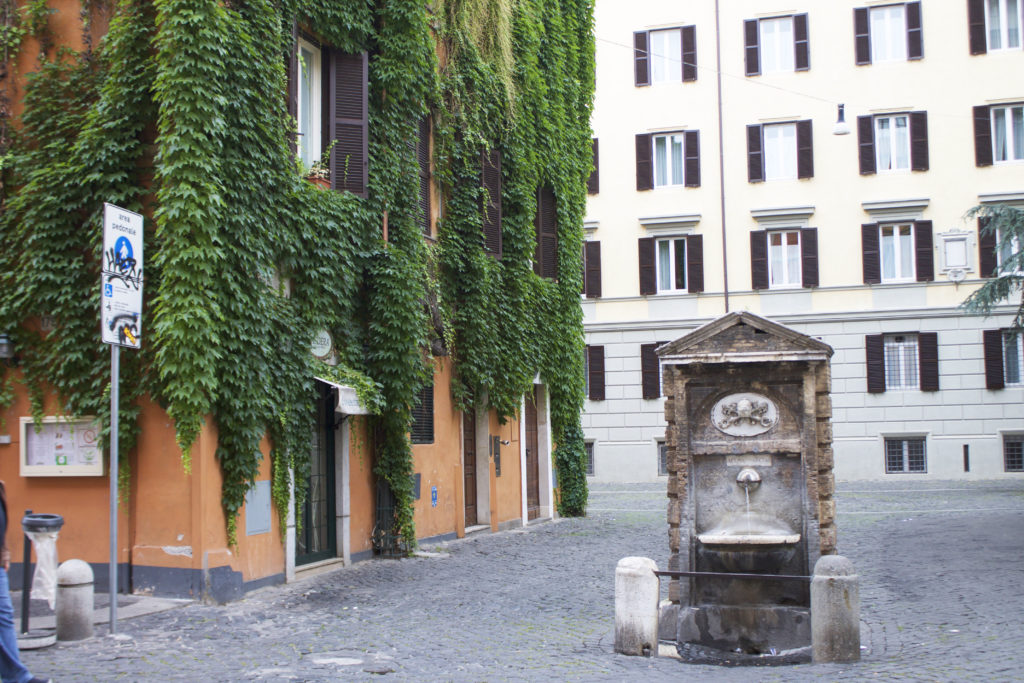 Borgo Pio Rome